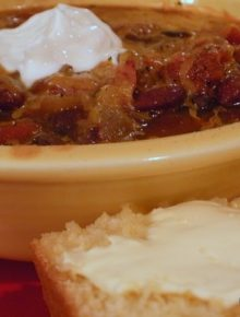 Crock Pot Vegetarian Chili