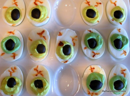 Deviled Egg Eyes