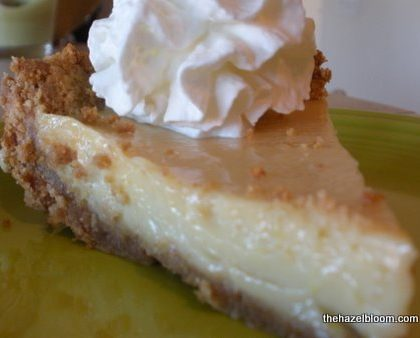 Easy peasy no-lime-squeezy key lime pie!