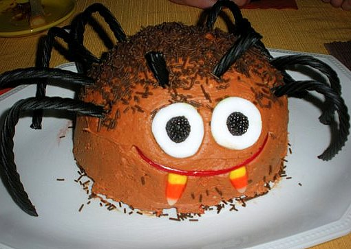 Terrific Spider Cake Kitchen Treaty Recipes Funny Birthday Cards Online Inifofree Goldxyz