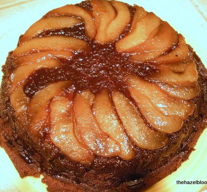 Gingerbread-Pear-Upside-Down-Cake
