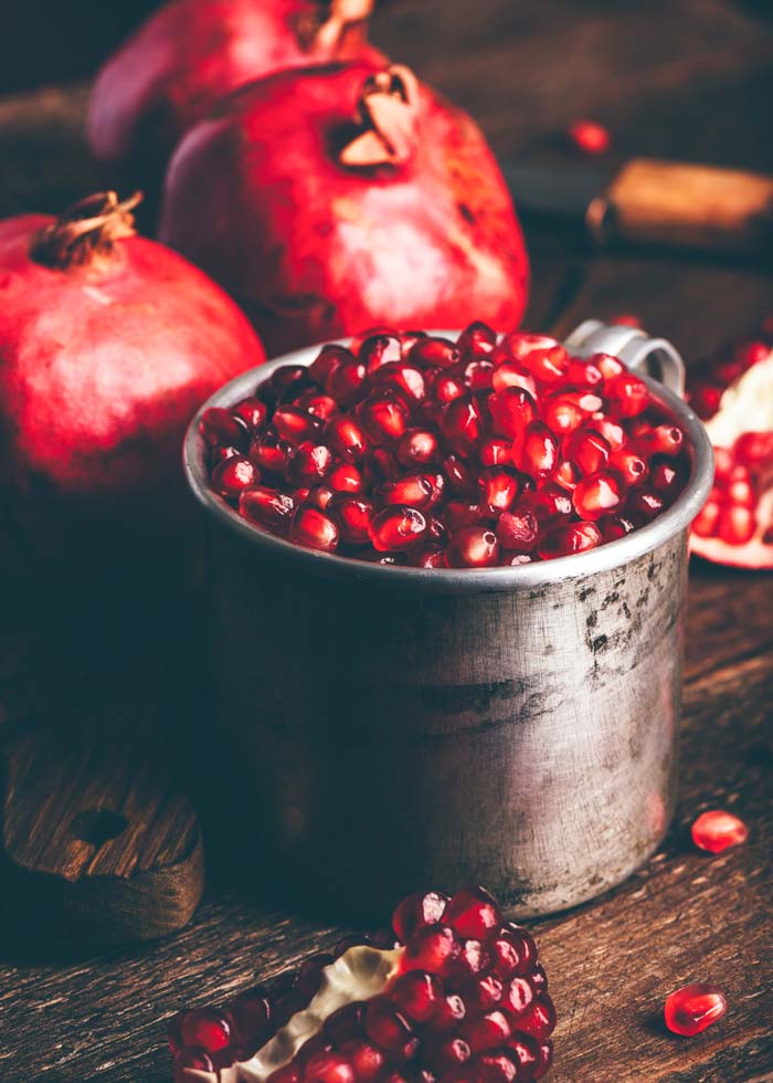 How to Cut and Deseed a Pomegranate - Pomegranate arils are delicious and nutritious. But if you have a whole fruit on your hands, what's the easiest way to get to the seeds? Here's how!