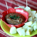 Apple mustard dip-001