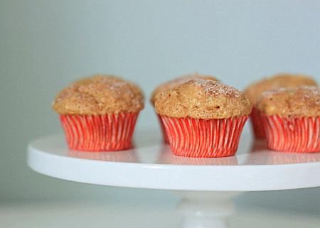 Cinnamon and sugar mini muffins | Kitchen Treaty