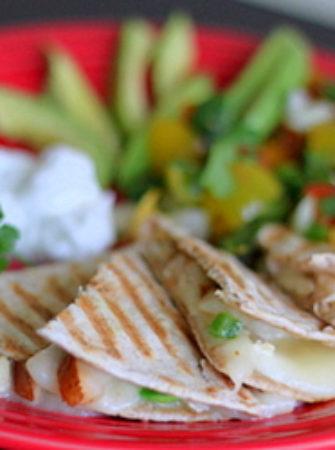 Pear and brie quesadillas | Kitchen Treaty