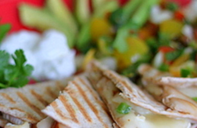 Pear and brie quesadillas | Kitchen Treaty