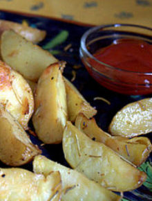 Rosemary roasted potatoes-001