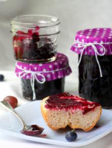 Gooseberry Blueberry Jam