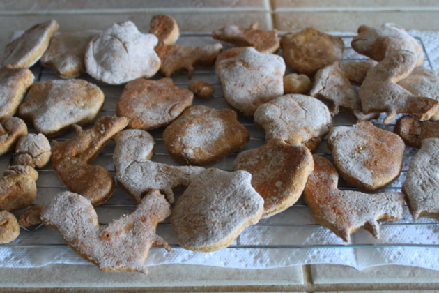 Homemade Pumpkin Dog Biscuits - The perfect fall treat for your pooch. Pureed pumpkin is packed with nutrients - and dogs love it.