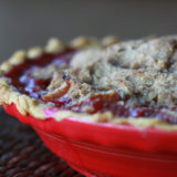 Apple Cranberry Crumble Pie | Kitchen Treaty