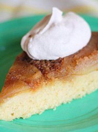Caramel Apple Upside Down Cake | Kitchen Treaty