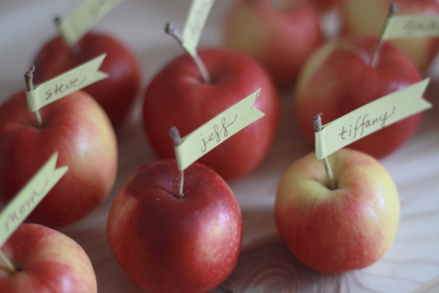 Cute Crabapple Place Cards