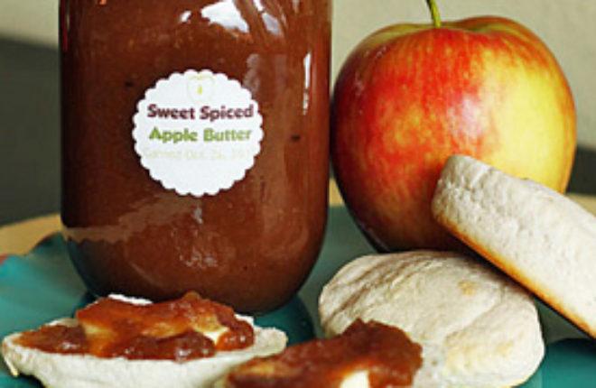 Sweet Spiced Crock Pot Apple Butter   Kitchen Treaty
