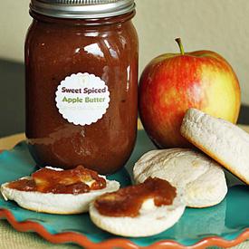 Sweet Spiced Crock Pot Apple Butter | Kitchen Treaty