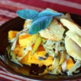 Apple, Butternut Squash & Leek Gratin | Kitchen Treaty