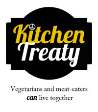 Kitchen Treaty: Vegetarians and meat-eaters CAN live together