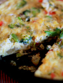 Leftover Crudite Frittata | Kitchen Treaty