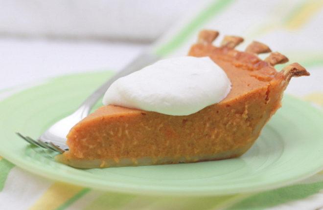 Vanilla Bourbon Sweet Potato Pie