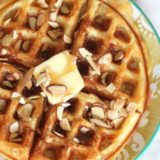 Almond Buttermilk Waffles