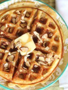 Almond Buttermilk Waffles