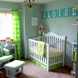 A DIY Nursery for Eloise