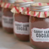 Homemade Candy Cane Hot Cocoa Mix | Kitchen Treaty