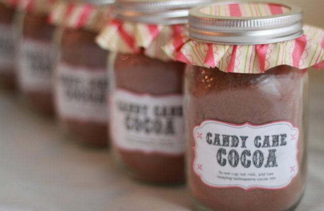 Homemade Candy Cane Hot Cocoa Mix | Kitchen Treaty