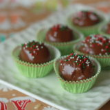 Milk Chocolate Peanut Butter Balls