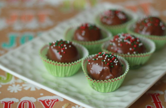 Milk Chocolate Peanut Butter Balls