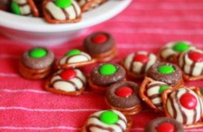 Chocolate pretzel candies   Kitchen Treaty