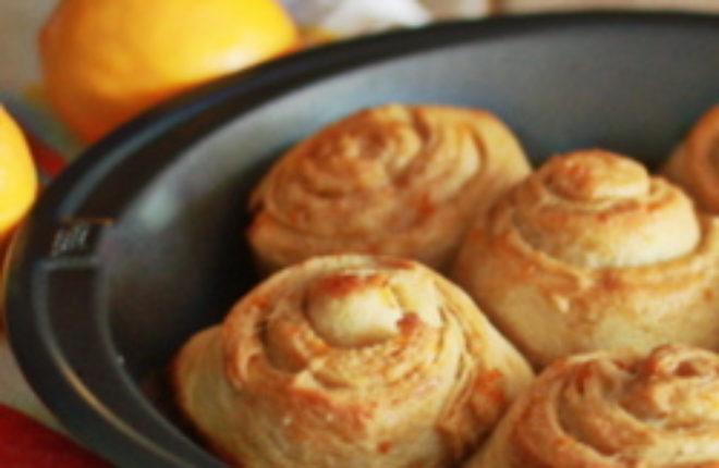 Cheater meyer lemon rolls | Kitchen Treaty