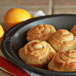 Cheater Meyer Lemon Rolls
