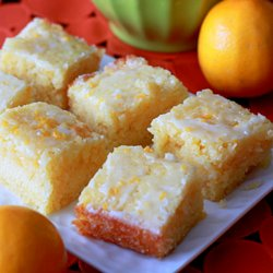 Meyer Lemon Cake Bars