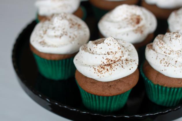 Baileys & coffee cupcakes   Kitchen Treaty