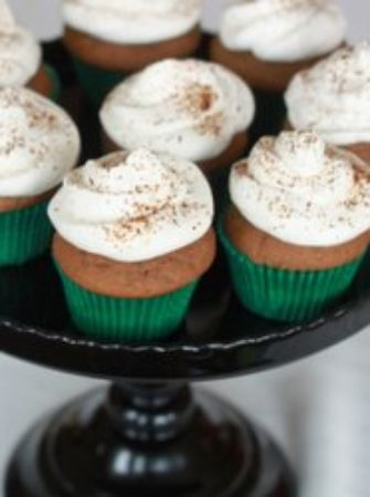 Baileys & coffee cupcakes | Kitchen Treaty
