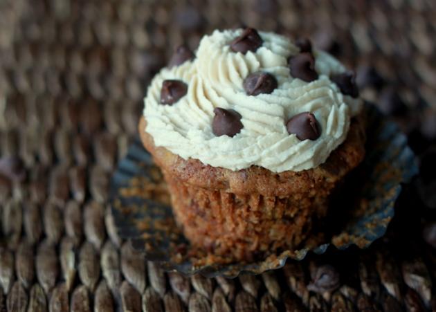 Chocolate Chip Cookie Cupcakes | Kitchen Treaty