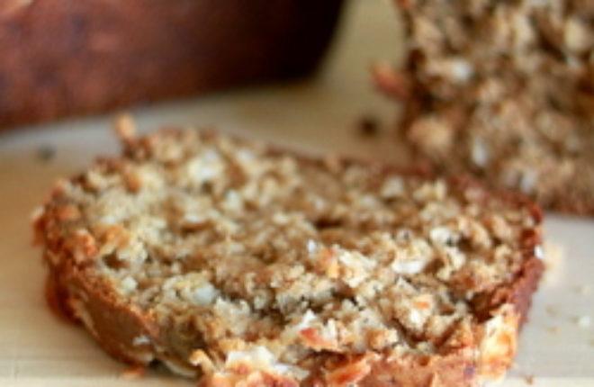 Coconut banana bread   Kitchen Treaty