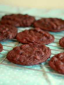 Espresso double chocolate chip cookies | Kitchen Treaty