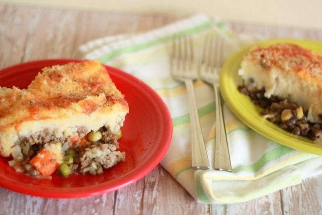 Cheesy Shepherds Pie
