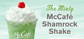 McDonalds Shamrock Shake Image