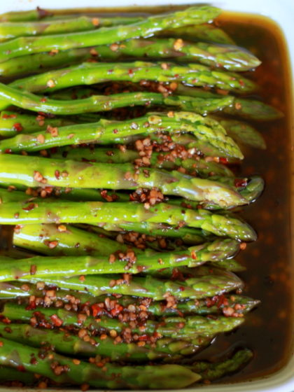 Balsamic Marinated Asparagus Kitchen Treaty Recipes