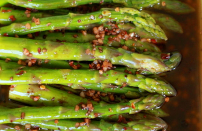 Balsamic Marinated Asparagus featured image
