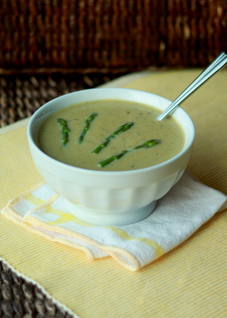 Cream of Asparagus Soup - Kitchen Treaty