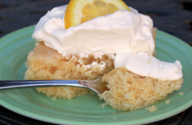 Super Moist Lemon Cake