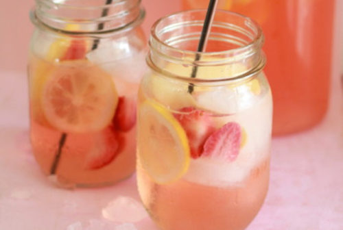 strawberry-lemon-white-sangria