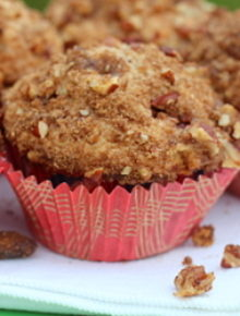 Strawberry rhubarb muffins | kitchentreaty.com