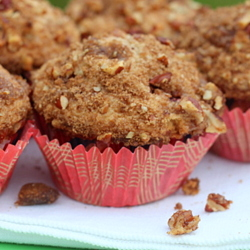 Strawberry rhubarb muffins | kitchentreaty.com