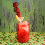 Fresh-Squeezed Strawberry Lemonade by the Glass | Kitchen Treaty