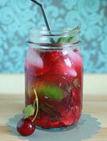 Bing Cherry Mojitos | Kitchen Treaty