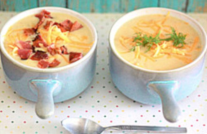 Cheddar Corn Chowder with Optional Bacon | Kitchen Treaty